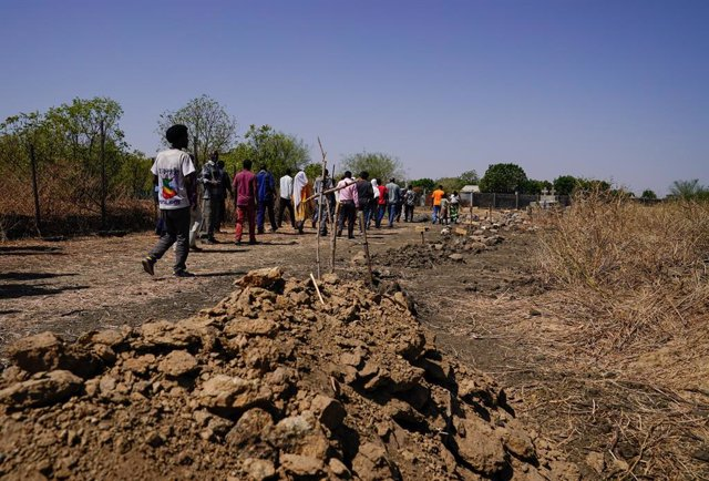 Desplazados en Tigray (Etiopía)
