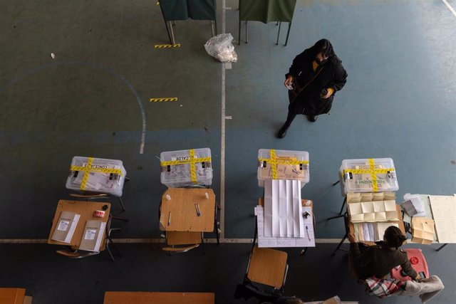 Archivo - Elecciones en Chile