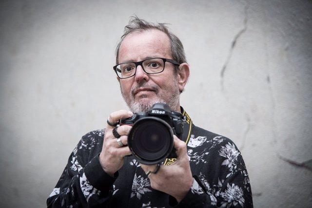 El fotoperiodista especialitzat en música en directe Xavier Mercadé.
