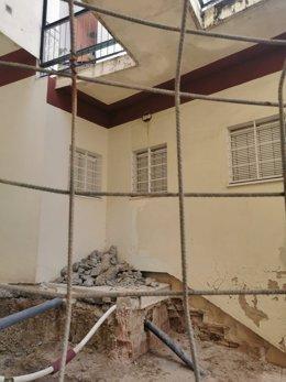 Obras de mejora de la accesibilidad en viviendas de Manzanilla (Huelva).