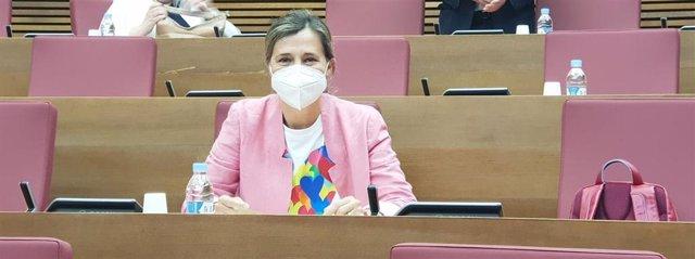 La portavoz de Política Social del PP en Les Corts, Elena Bastidas