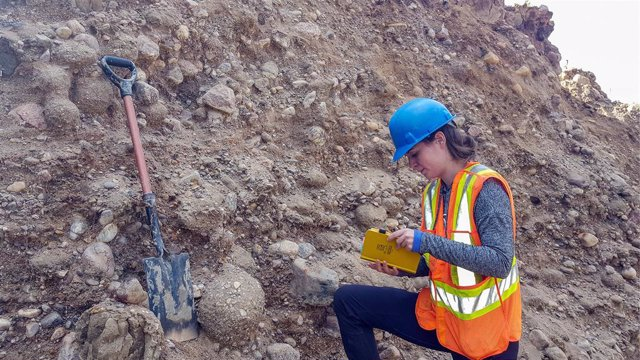 Archivo - Depósitos sedimentarios generados por el flujo de agua que provocó el vaciado del lago Agassiz