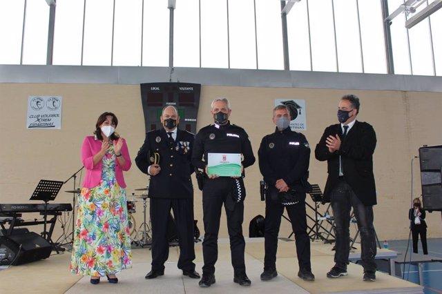 Reconocimiento a la Policía Local de Espartinas
