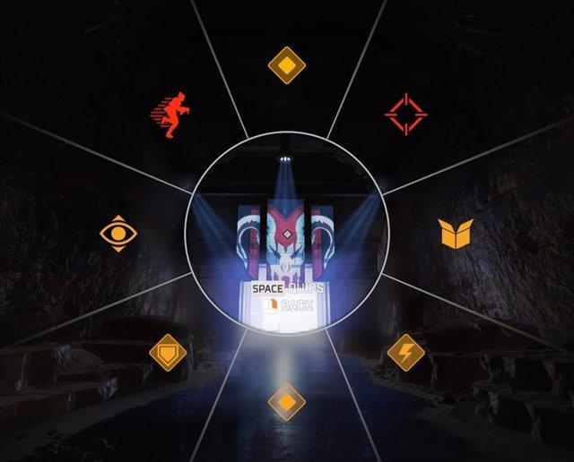 Sistema de Ping de accesibilidad de EA en el videojuego Apex Legends.
