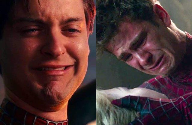 Los Spider-Man de Tobey Maguire y Andrew Garfield