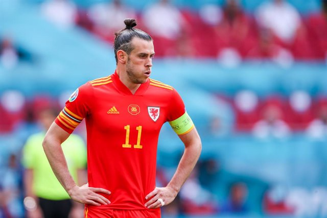 Archivo - Gareth Bale of Wales during the UEFA Euro 2020, round of 16 football match between Wales and Denmark on June 26, 2021 at the Johan Cruijff ArenA in Amsterdam, Netherlands - Photo Marcel ter Bals / Orange Pictures / DPPI