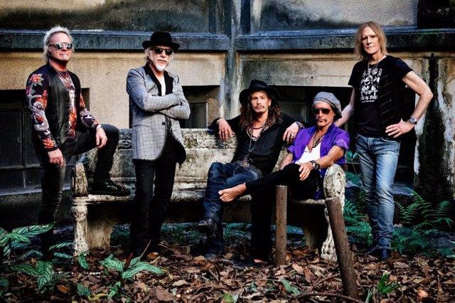 Archivo - Foto de Aerosmith