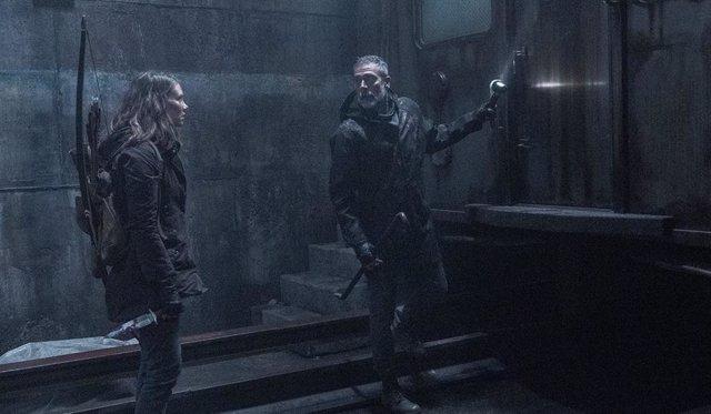 The Walking Dead 11x01: La hiriente frase de Negan a Maggie sobre Gleen que Jeffrey Dean Morgan luchó por eliminar