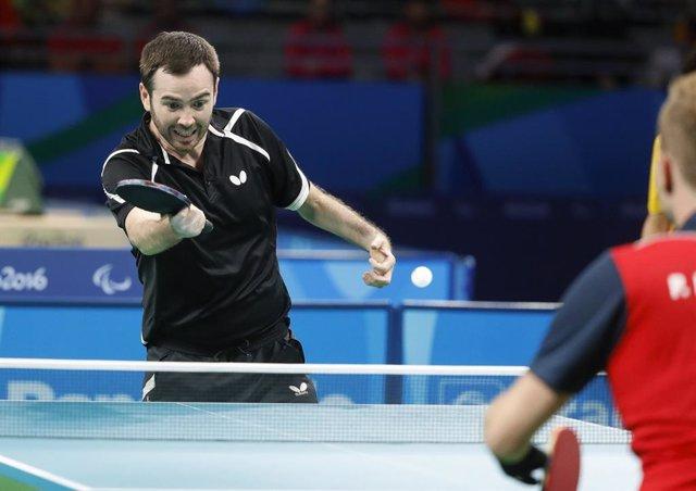 Archivo - Alvaro Valera en los Juegos de Río de Janeiro