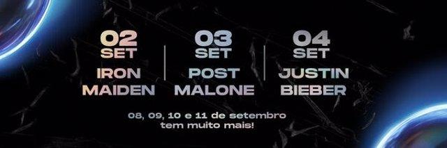 Post Malone y Jason Derulo actuarán en la edición brasileña y europea de Rock in Rio 2022