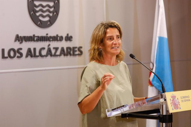 25-08-21 La Ministra  Teresa Ribera A l'Ajuntament De Los Alcázares