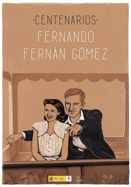 La Filmoteca Española organiza una proyección especial para conmemorar el 100 aniversario del nacimiento de Fernando Fernán Gómez el próximo 28 de agosto