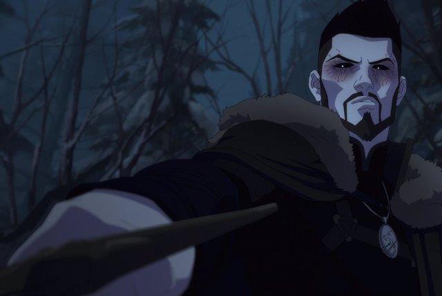 La escena de The Witcher: La pesadilla del lobo indigna a los fans