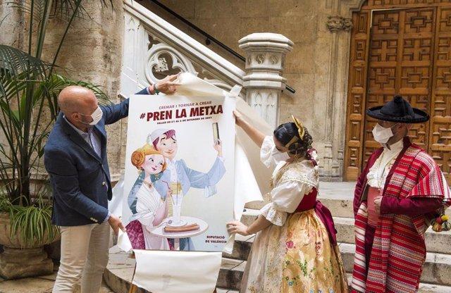 Presentación campaña por las fallas de la Diputación