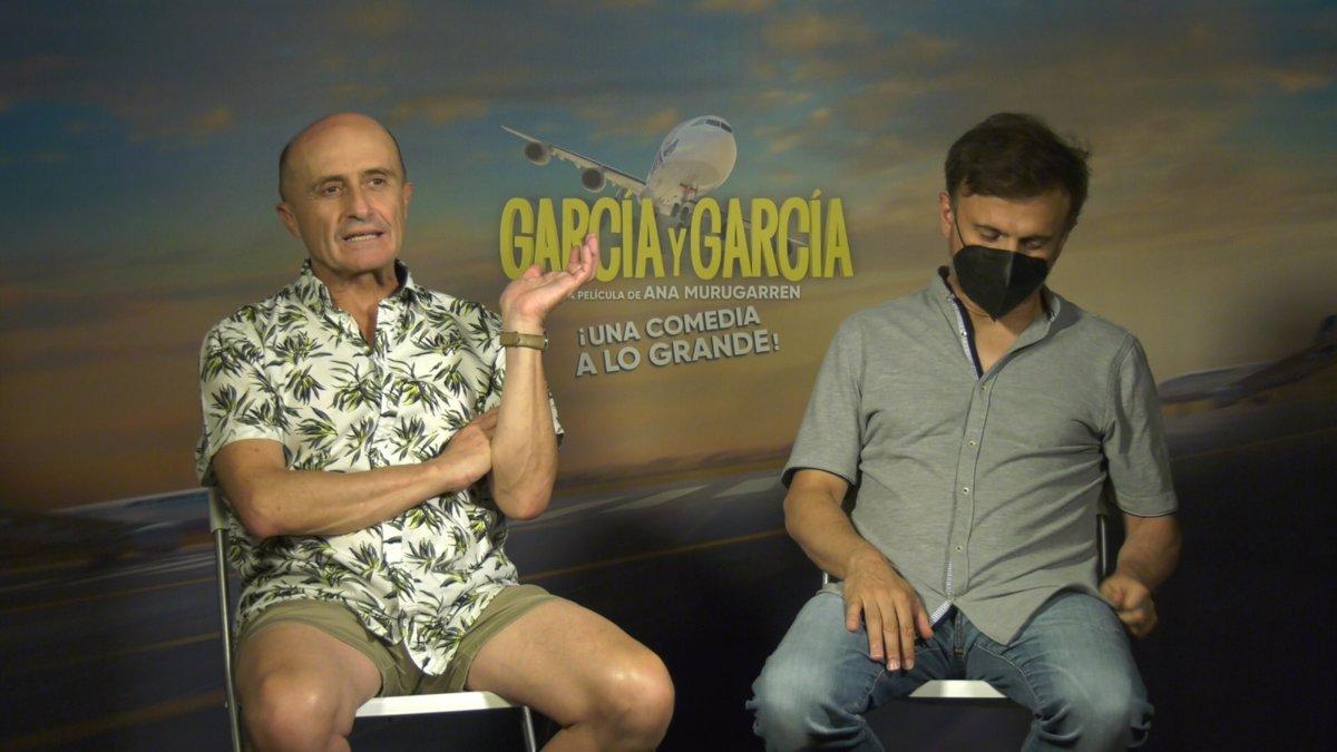 "José Mota and Pepe Viyuela claim comedy with 'García y Garcia' as ""the best companion to return to the cinema"""