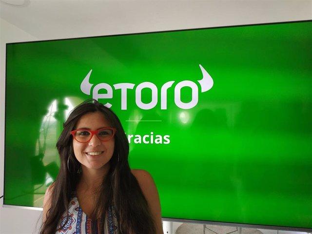 Archivo - La directora general para España y Latam de eToro, Tali Salomon, en una foto de archivo.