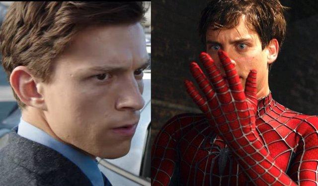 Hay una referencia a Tobey Maguire en el tráiler de Spider-Man No Way Home