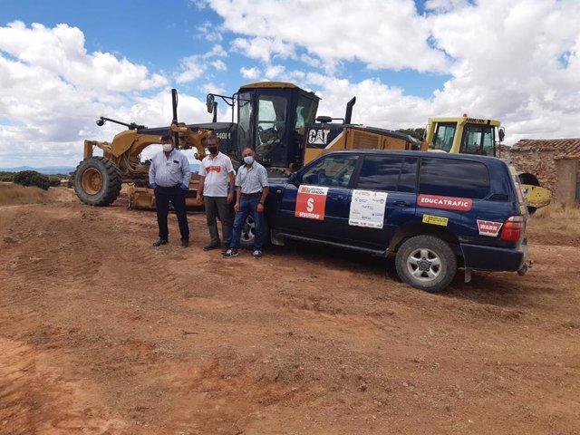 La Diputación de Teruel completa la reparación de los caminos por los que discurrió la Baja Aragón.