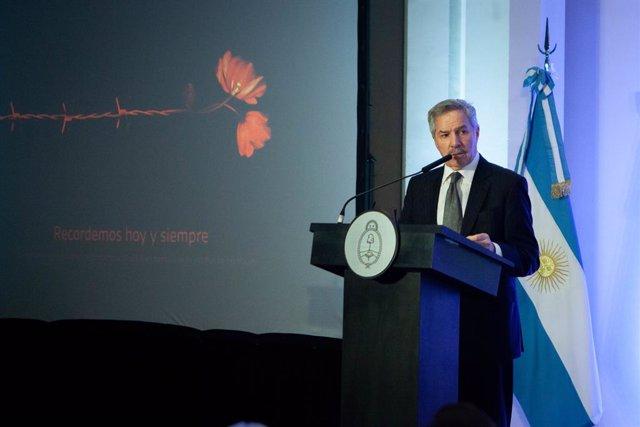 Archivo - El ministro de Asuntos Exteriores de Argentina, Felipe Solá.