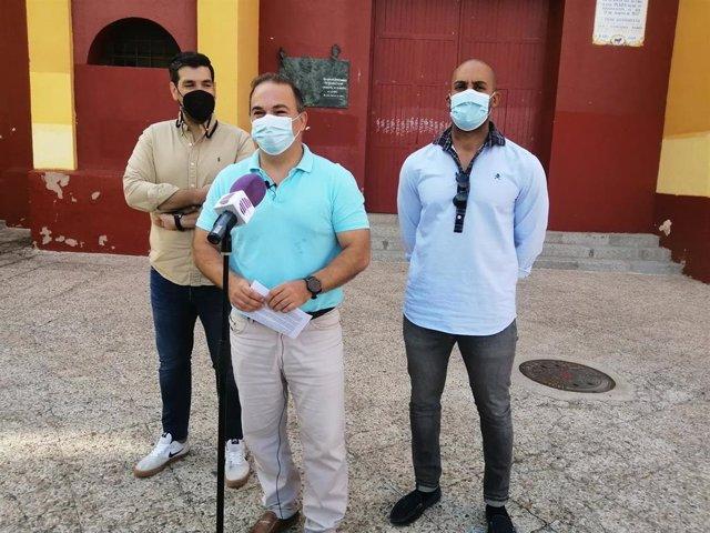 El portavoz del PP en Guadalajara, Jaime Carnicero