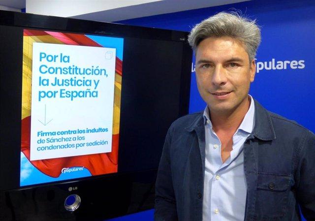Archivo - El diputado nacional del PP por Córdoba, Andrés Lorite.