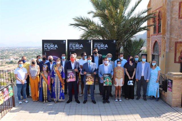 Presentación de la Feria de Murcia