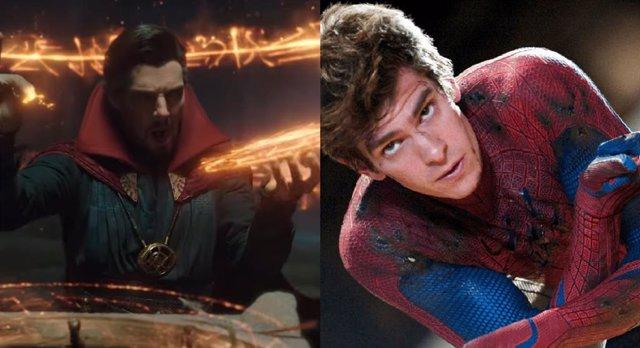 Filtradas fotos de Andrew Garfield en Spider-Man: No Way Home
