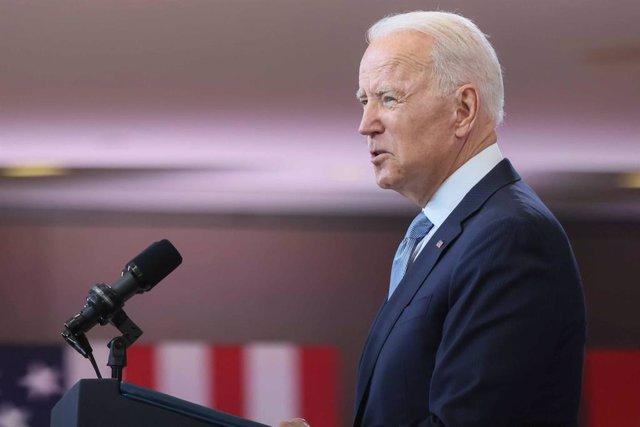 Archivo - El presidente estadounidense, Joe Biden