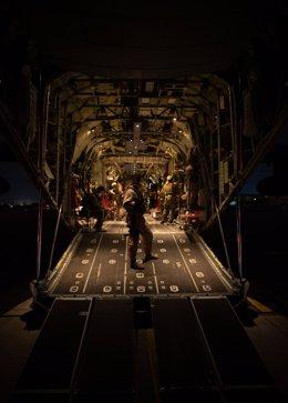 Primer vuelo de evacuación de las Fuerzas de Defensa de Australia partió de Kabul con 26 personas a bordo.