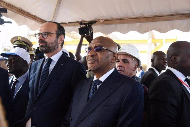 Archivo - El exprimer ministro de Malí, Soumeylou Boubeye Maiga.