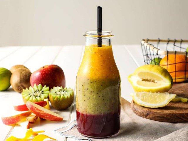 Los smothies son una gran opción para consumir frutas y verduras