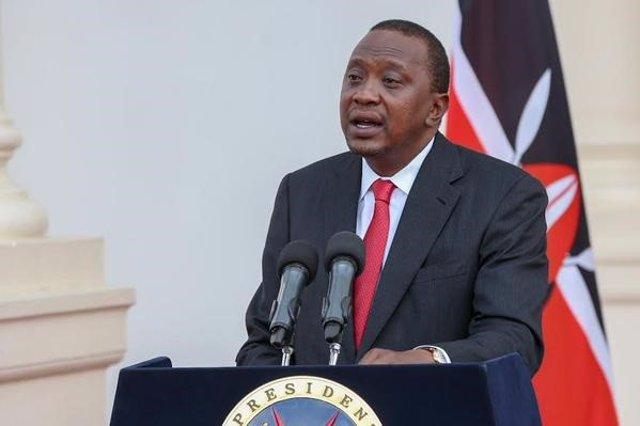 Archivo - Presidente de Kenia,  Uhuru Kenyatta