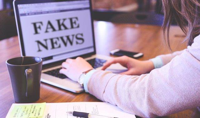 Noticias falsas en Internet.