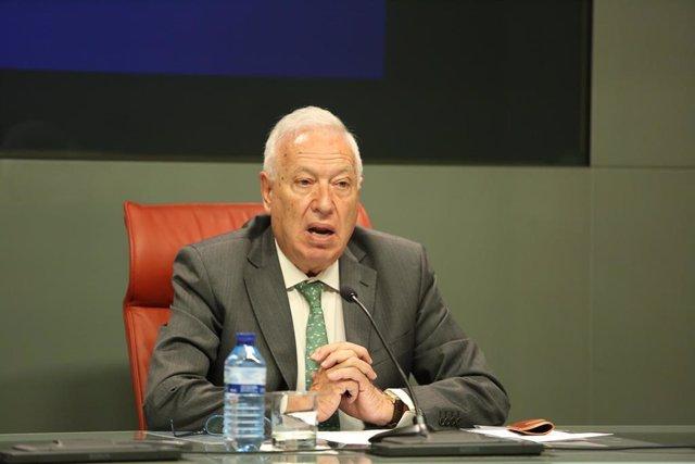 Archivo - El eurodiputado del PP y exminsitro de Asuntos Exteriores José Manuel García Margallo.