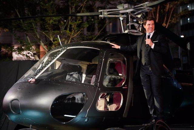 Archivo - Tom Cruise presenta 'Mission: Impossible - Fallout' en Tokyo