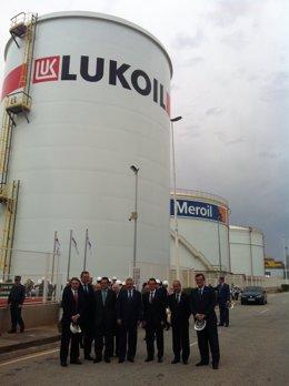 Archivo - Meroil-Lukoil En El Puerto De Barcelona