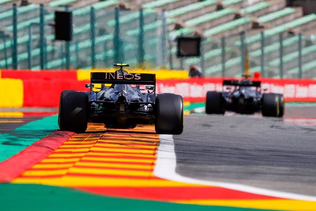 Archivo - 77 BOTTAS Valtteri (fin), Mercedes AMG F1 GP W11 Hybrid EQ Power+, action during the Formula 1 Rolex Belgian Grand Prix 2020, from August 28 to 30, 2020 on the Circuit de Spa-Francorchamps, in Stavelot, near Liège, Belgium - Photo Florent Gooden