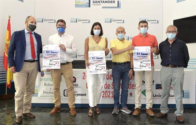 Presentación de la prueba Ultrafondo 24 horas 'Ciudad de Santander'