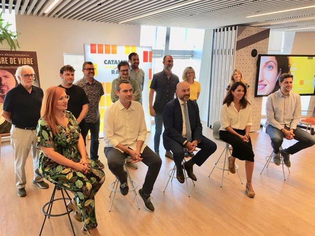 Presentació de la nova temporada de Catalunya Ràdio