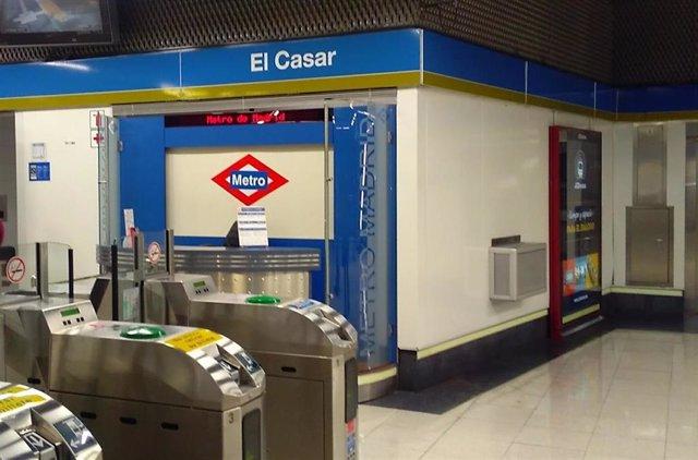 Archivo - Estación de Metro El Casar