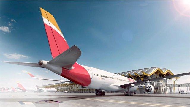 Archivo - Avió de Iberia