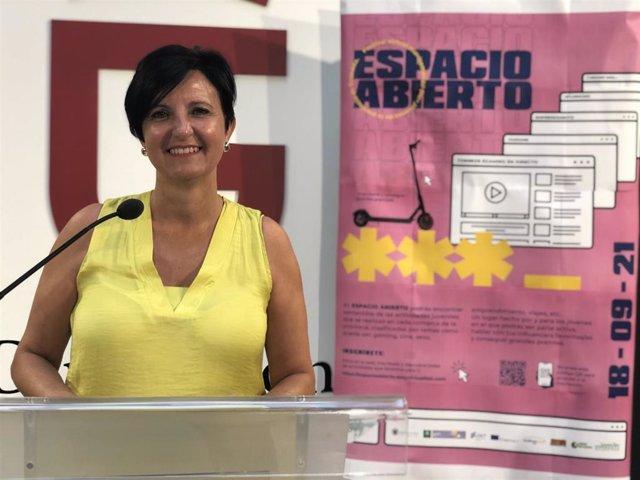 La diputada provincial de Igualdad y Juventud, Mercedes Garzón
