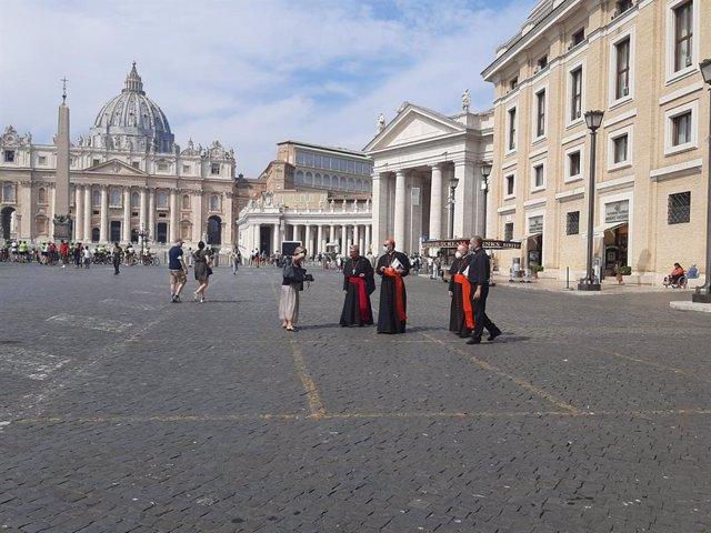 Archivo - Encuentro de la CEE con el Papa en Ciudad del Vaticano, (Italia), a 19 de septiembre de 2020.
