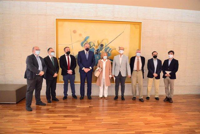 Archivo - Reunión del Comité Científico de los actos del V Centenario del Movimiento Comunero.
