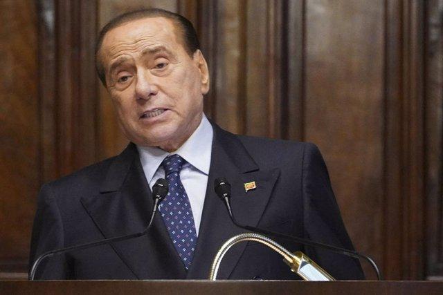 Archivo - El líder de Forza Italia, Silvio Berlusconi