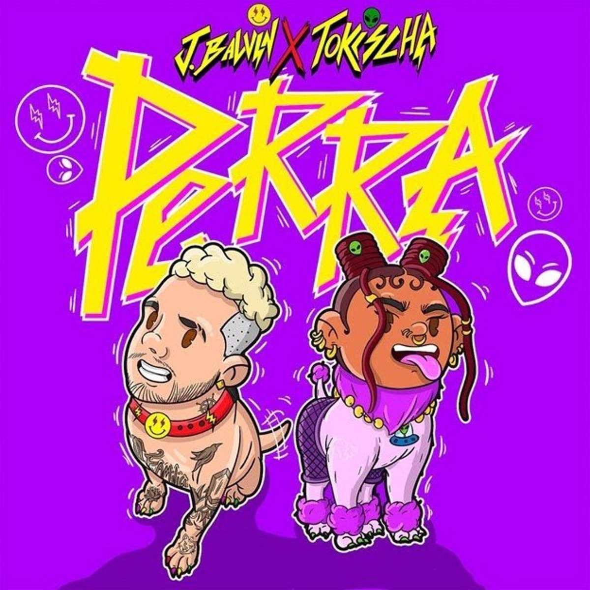 Reaggeton singer J. Balvin releases 'Perra', a new song from his album 'Jose', on sale September 10