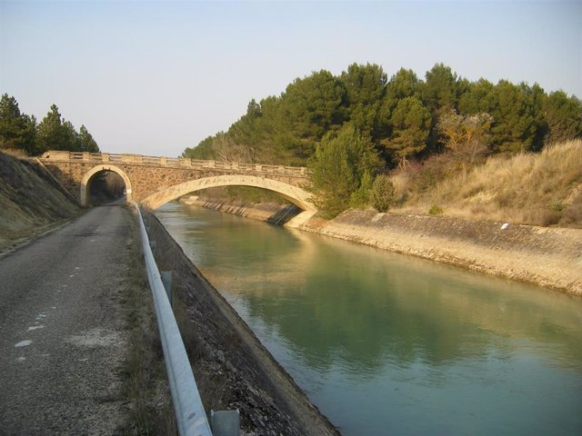 Imagen del canal de Bardenas.