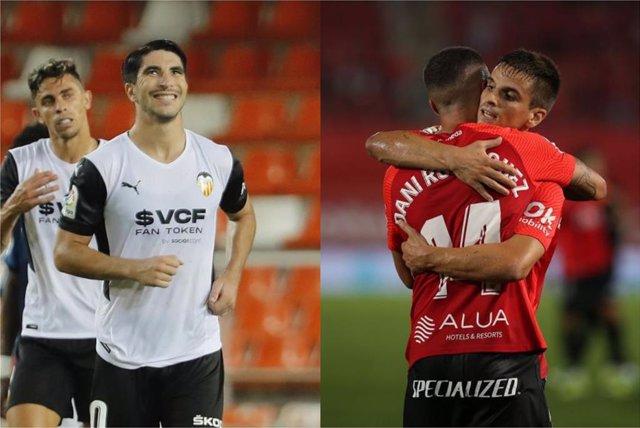 Valencia y Mallorca ganan para inaugurar la tercera jornada de LaLiga Santander