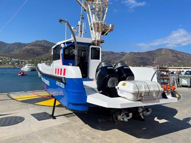 Imatge de la nova embarcació 'Cap de Creus'
