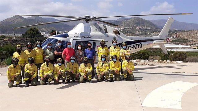 Junta destaca la contribución del Centro de Defensa Forestal de Alhama a prevención y extinción de incendios